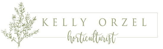 Kelly Orzel – Author, Speaker, Organic Herb Farmer Logo