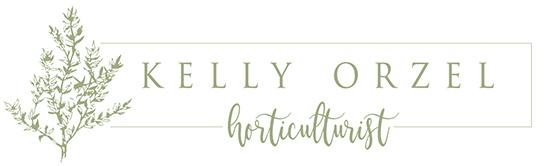 Kelly Orzel – Author, Speaker, Organic Herb Farmer Logo