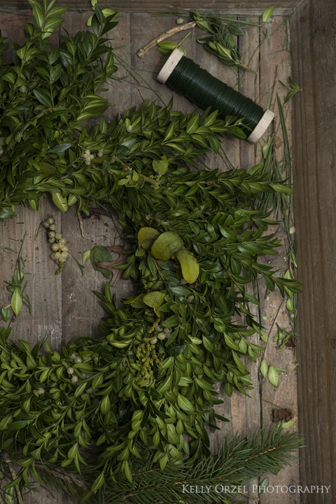 Boxwood Christmas Wreaths | Kelly Orzel