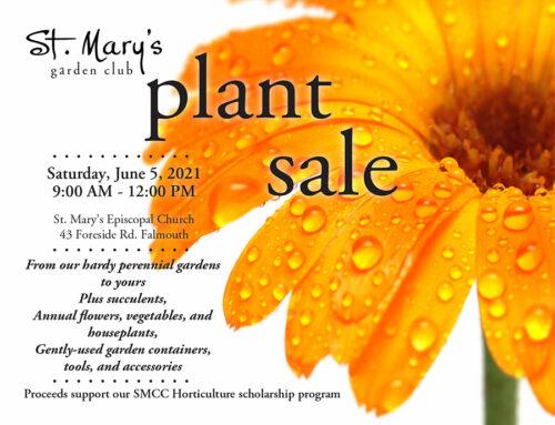 St. Mary's Amazing Plant Sale